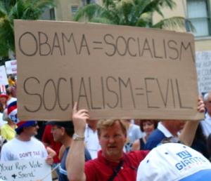 Obama = Socialist
